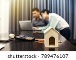 business meeting of real estate ...   Shutterstock . vector #789476107