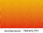halftone background. digital... | Shutterstock .eps vector #789491797