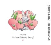 unique vector card template...   Shutterstock .eps vector #789592087
