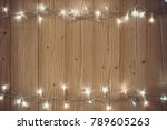 fancy blinker light bulbs or... | Shutterstock . vector #789605263