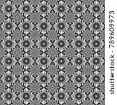 geometric abstract mosaic... | Shutterstock . vector #789609973