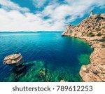 aerial view of melagavi... | Shutterstock . vector #789612253