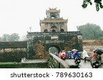 hue  vietnam   10th december... | Shutterstock . vector #789630163