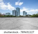 cityscape and skyline in blue...   Shutterstock . vector #789651127