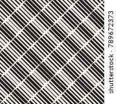 black and white irregular... | Shutterstock .eps vector #789672373