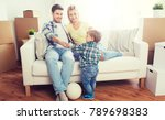 mortgage  people  housing ... | Shutterstock . vector #789698383