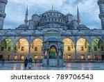 istanbul turkey  april 20  2016 ... | Shutterstock . vector #789706543