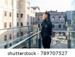 looking at a distant asian man... | Shutterstock . vector #789707527