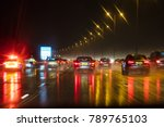 motion blurred photograph of... | Shutterstock . vector #789765103