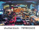 bangkok  thailand   aug 25  ... | Shutterstock . vector #789802633