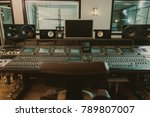 view of sound producing... | Shutterstock . vector #789807007