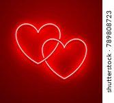 valentines day background....   Shutterstock .eps vector #789808723