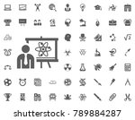scientist research icon.... | Shutterstock .eps vector #789884287
