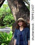 ladies thailand smile. | Shutterstock . vector #789911437