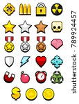 collection of various icons...
