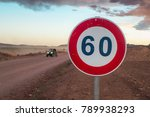 a speed limit sign in the... | Shutterstock . vector #789938293