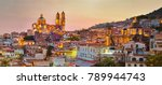 Panorama Taxco City Sunset Mexico - Fine Art prints