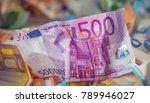 euro money euro banknotes euro... | Shutterstock . vector #789946027