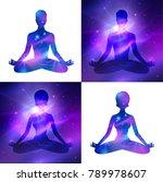vector set of illustrations... | Shutterstock .eps vector #789978607