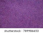 top view background of purple...   Shutterstock . vector #789986653