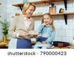 mid aged female with self made... | Shutterstock . vector #790000423