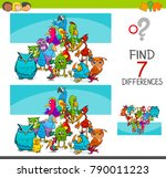 cartoon vector illustration of... | Shutterstock .eps vector #790011223