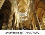 abbey church saint ouen in... | Shutterstock . vector #79007692