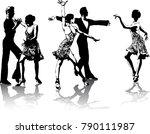 beautiful hi detailed figures...   Shutterstock .eps vector #790111987