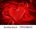 love and valentines day concept.... | Shutterstock . vector #790148653