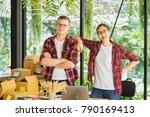 shot of young entrepreneur ... | Shutterstock . vector #790169413
