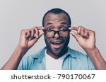 omg  i can see you perfectly  ... | Shutterstock . vector #790170067