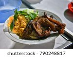 indonesia food  indonesian... | Shutterstock . vector #790248817