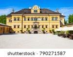 Hellbrunn Palace Or Schloss...