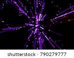 Bright Violet Bokeh Ornamental...