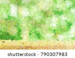 abstract modern graphic texture ... | Shutterstock . vector #790307983