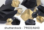 abstract background with... | Shutterstock . vector #790314643