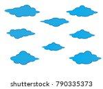 sky cloud cloudy art day summer ... | Shutterstock .eps vector #790335373
