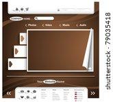 website design | Shutterstock .eps vector #79035418