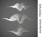 water spray  white smoke on...   Shutterstock .eps vector #790357633