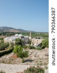 Small photo of High Resolution exterior view of Isa Bey Mosque which has impressive works of architectural art remaining from Anatolian beyliks in Selcuk,Izmir,Turkey.