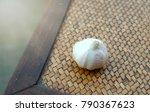 garlic. garlic cloves and...   Shutterstock . vector #790367623