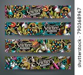 cartoon cute colorful vector... | Shutterstock .eps vector #790368967