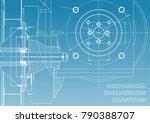 technical illustration.... | Shutterstock .eps vector #790388707