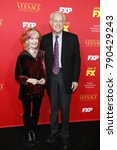 """Small photo of LOS ANGELES - JAN 8: Shelley Fabares, Mike Farrell at the """"The Assassination of Gianni Versace: American Crime Story"""" Premiere Screening at the ArcLight Theater on January 8, 2018 in Los Angeles, CA"""