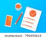 survey research. make a choice...   Shutterstock .eps vector #790455613