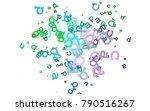 light multicolor  rainbow...   Shutterstock .eps vector #790516267