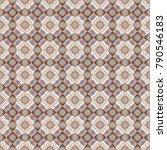 kaleidoscope geometric style in ... | Shutterstock . vector #790546183