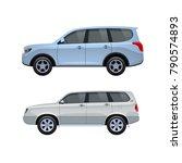 modern passenger cars jeep for... | Shutterstock .eps vector #790574893