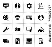 technology icons. vector...