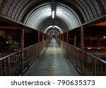 a symmetry alloy steel... | Shutterstock . vector #790635373